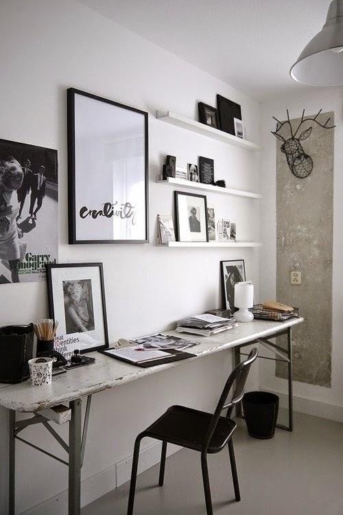 fashion desk office decor