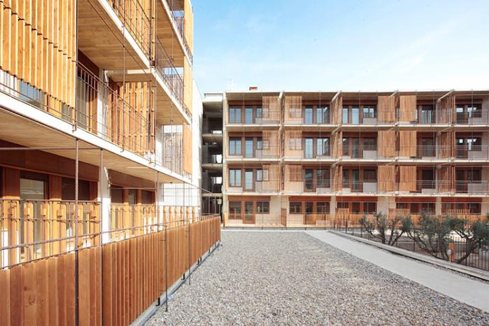 Thinking of colors architecture design viviendas con - Viviendas de madera economicas ...
