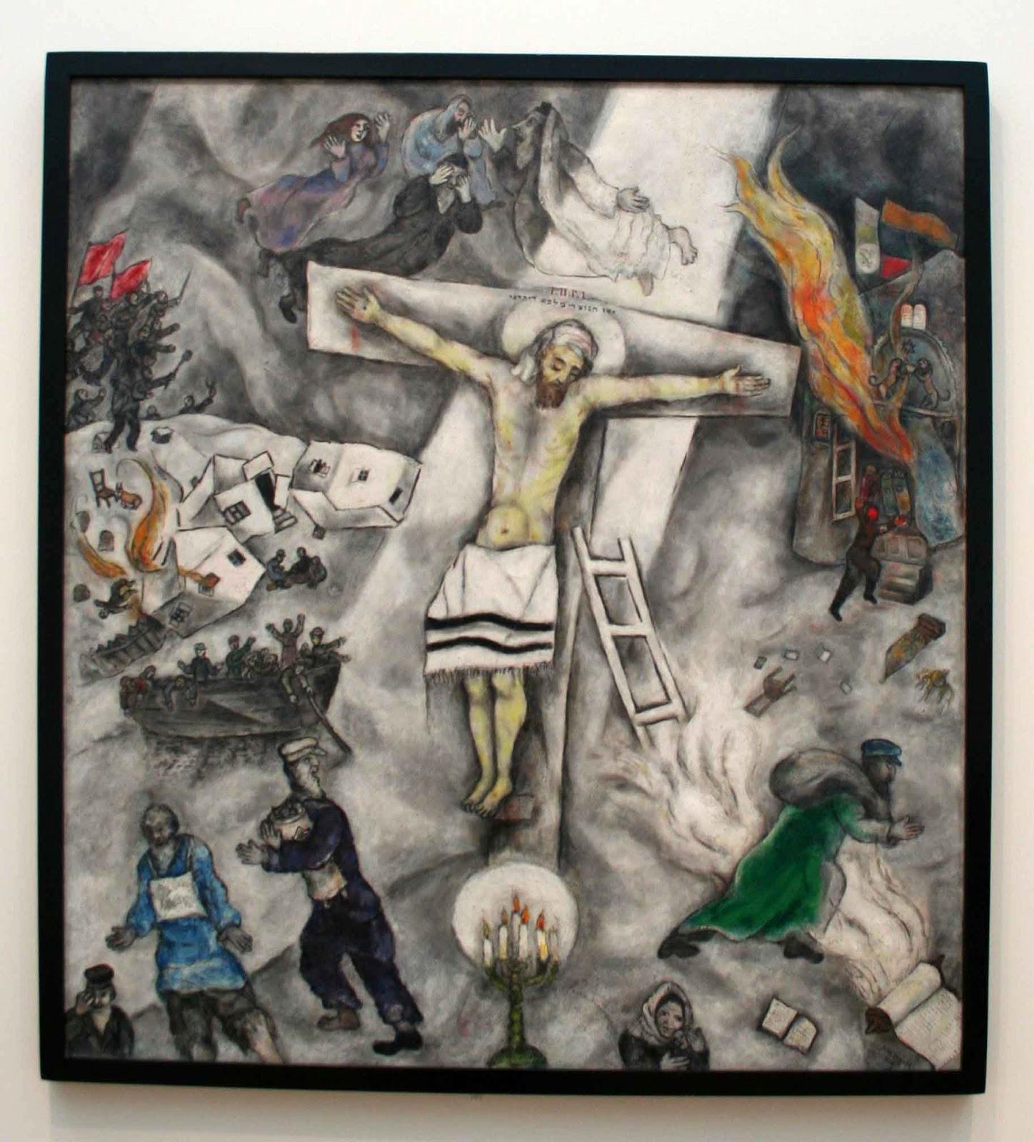 Voglio il mondo a colori: Chicago, The Art Institute ... Chagall Crucifixion