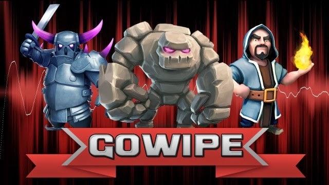 Cara Menggunakan GoWiPe Clash of Clans