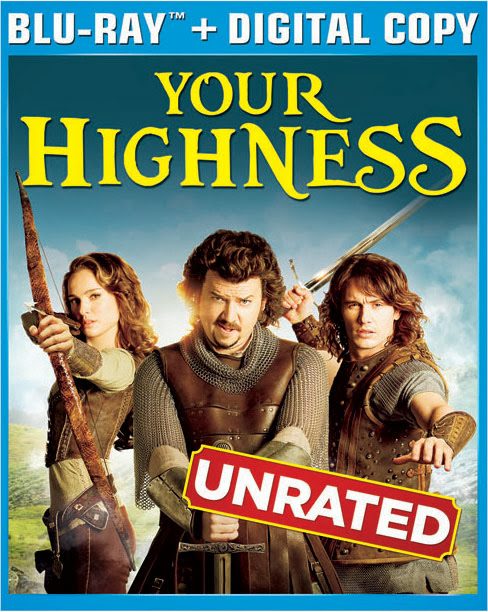 Your Highness 2011 Hindi Dubbed Dual Audio BRRip 300mb