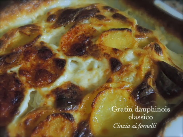 gratin dauphinois, gratin di patate