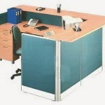 Kantor Partisi Receptionist Configuration Uno Executive Partition