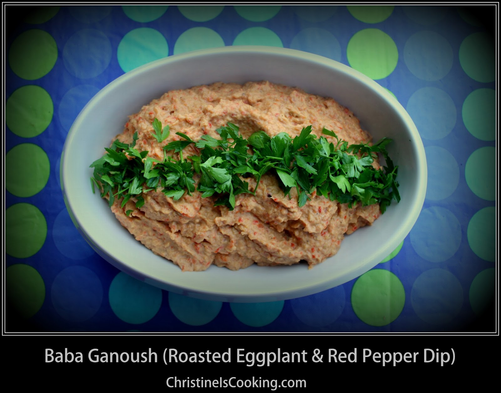 ... .com: Baba Ganoush: Roasted Red Pepper and Eggplant Dip