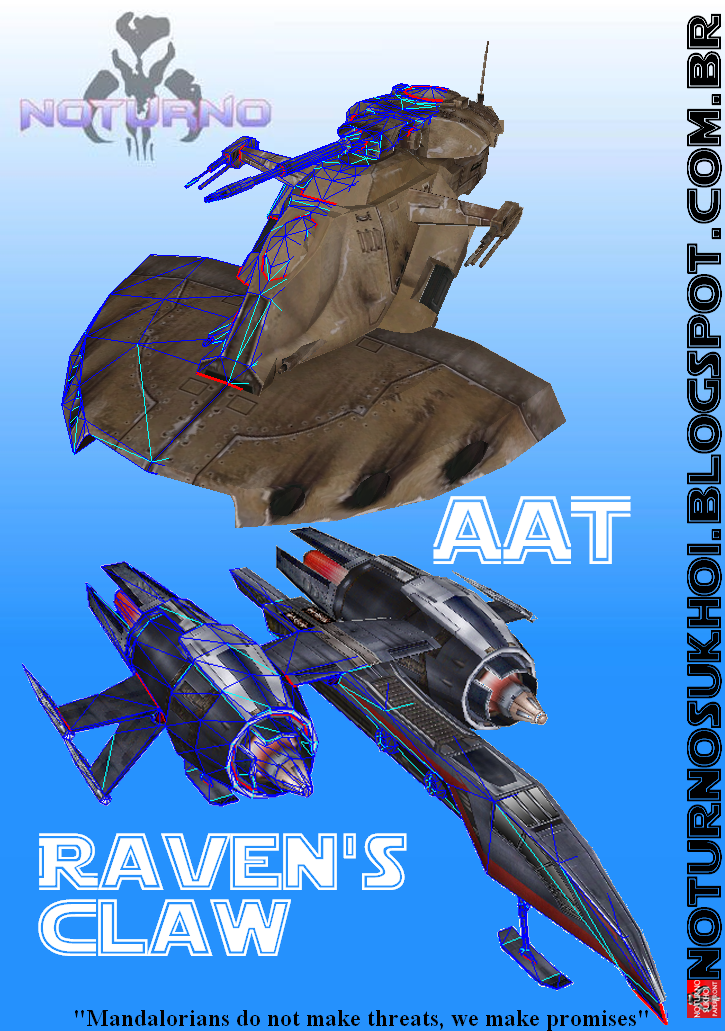 AAT Raven's Claw Papercraft