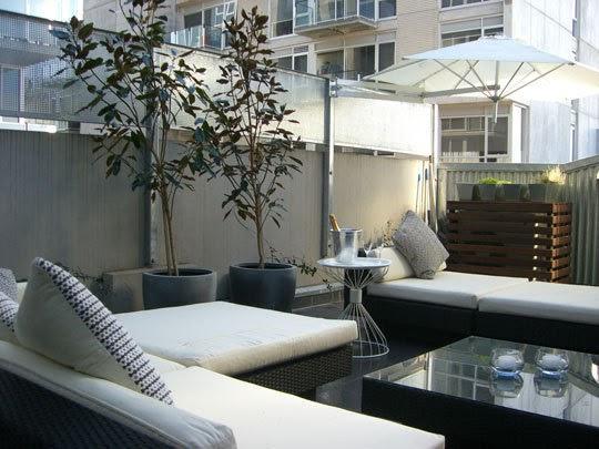 Decoraci n de interiores decoracion de terraza - Decoracion terrazas interiores ...