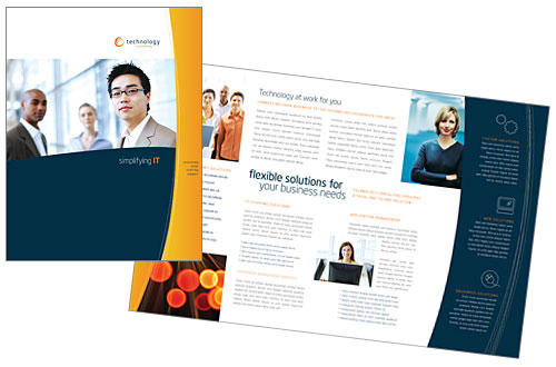 Brochure Design Template – Sample Business Brochure