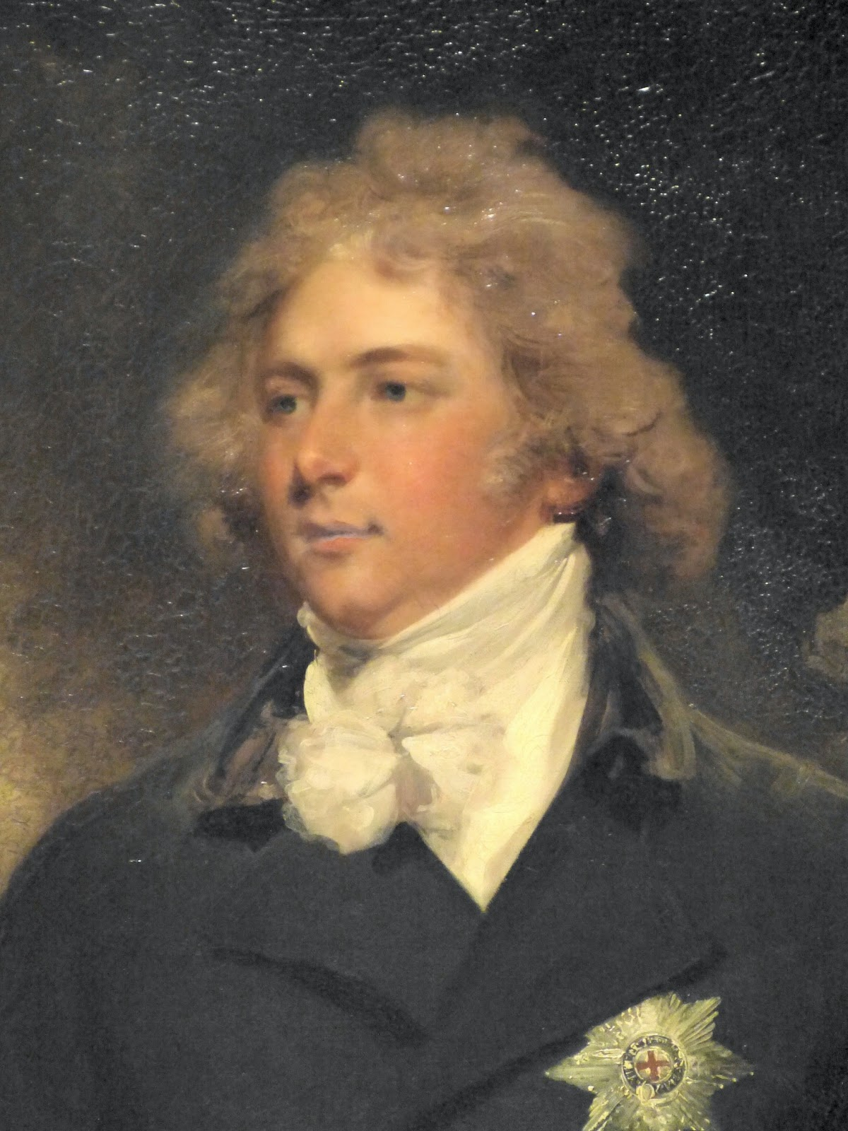 George, Prince of Wales, by Hoppner  © The Wallace Collection