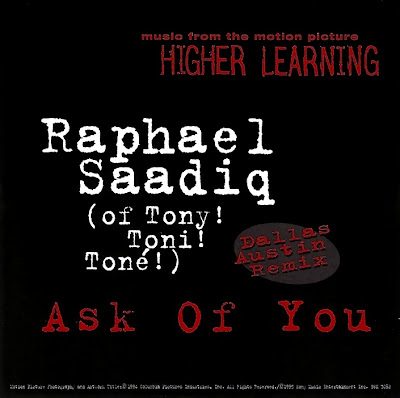 Raphael Saadiq - All I Ask You (Higher Learning)-(UK_CDS)-1994