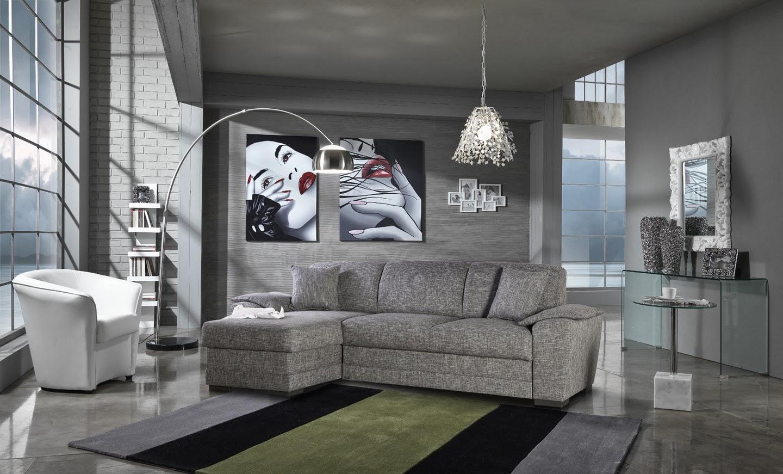 Salas modernas color gris salas con estilo for Salas de madera modernas
