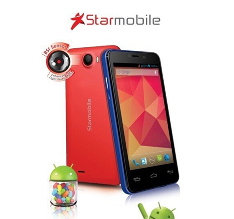 Starmobile Flirt a Dual Core Jelly Bean Smartphone at Php9,290