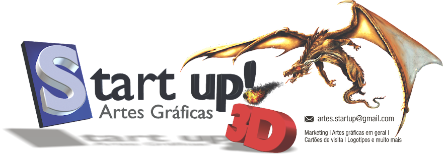 Start up! Artes Gráficas 3D