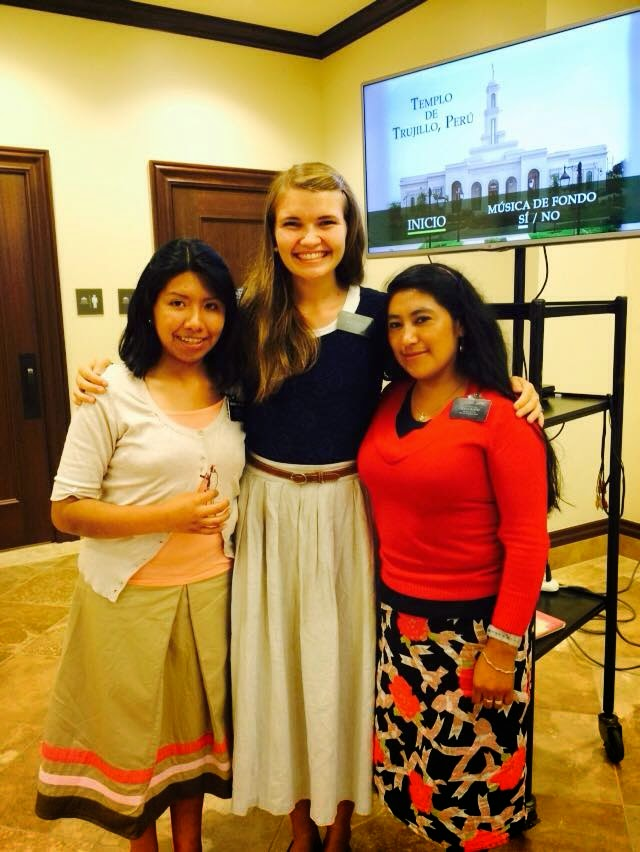 """Training Trio""! (Both she and Hermana Sarat are Training Hermana Maydana!"
