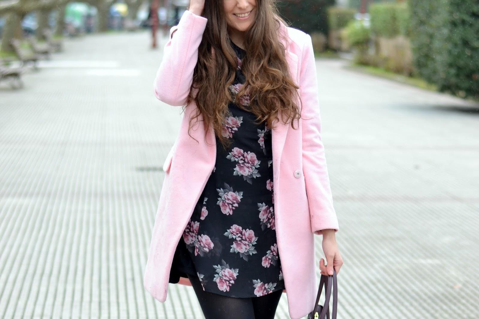 looks pink coat