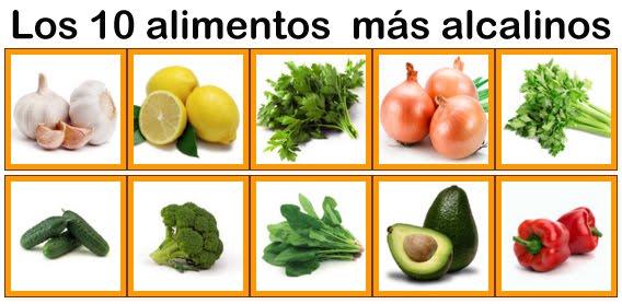 10 alimentos alcalinos