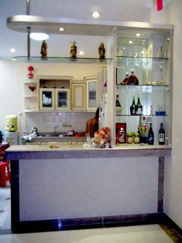 Meu cantinho suellen um mini bar para voc - House bar counter design ...