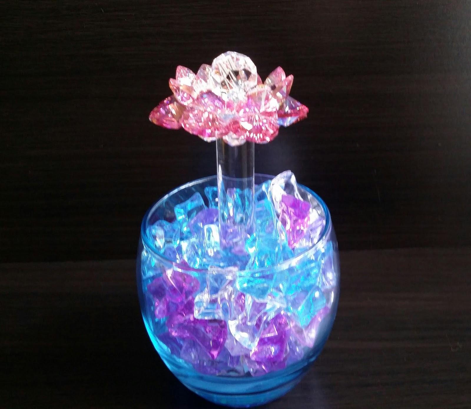 Sacred Crystal Lotus Sacred Crystal Lotus Flower For Display At