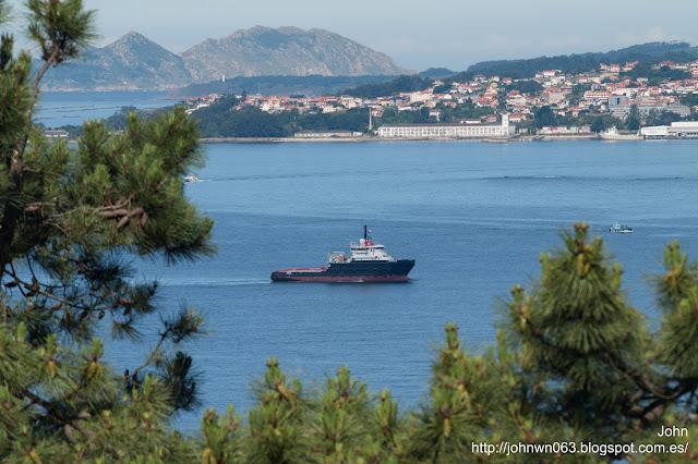 bylgia, heerema, astillero armón, puerto de vigo
