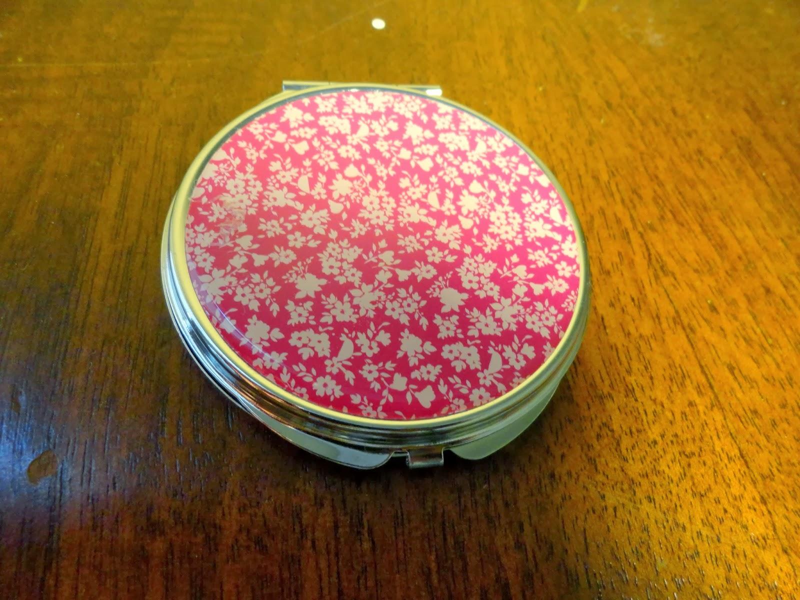 Clothes & Dreams: Shoplog: Primark: pink floral mirror