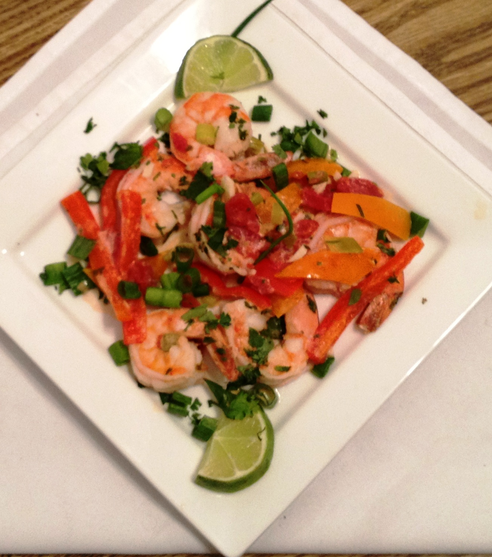 Garlic Shrimp in Coconut Milk, Tomatoes and Cilantro | A ...