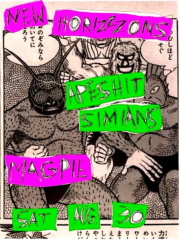 Primitive Urges Stink 'n' Drink @ Magpie, Saturday