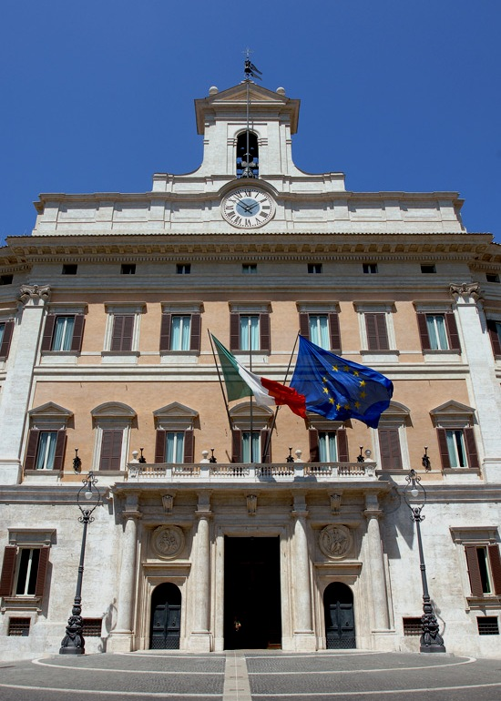 7 giorni a roma palazzo montecitorio for Piazza montecitorio 12