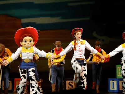 The Golden Mickeys Show Toy Story at Hong Kong Disneyland