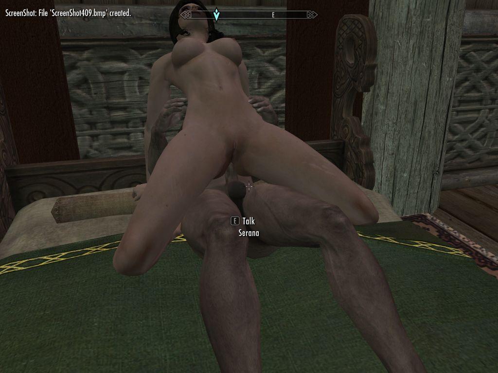 Naked girls playing skyrim not