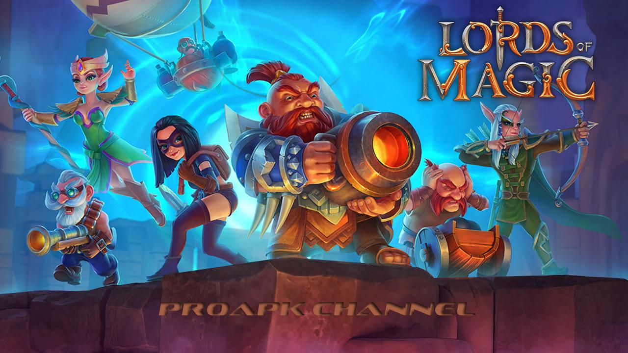 Lords of Magic: Fantasy War Gameplay IOS / Android