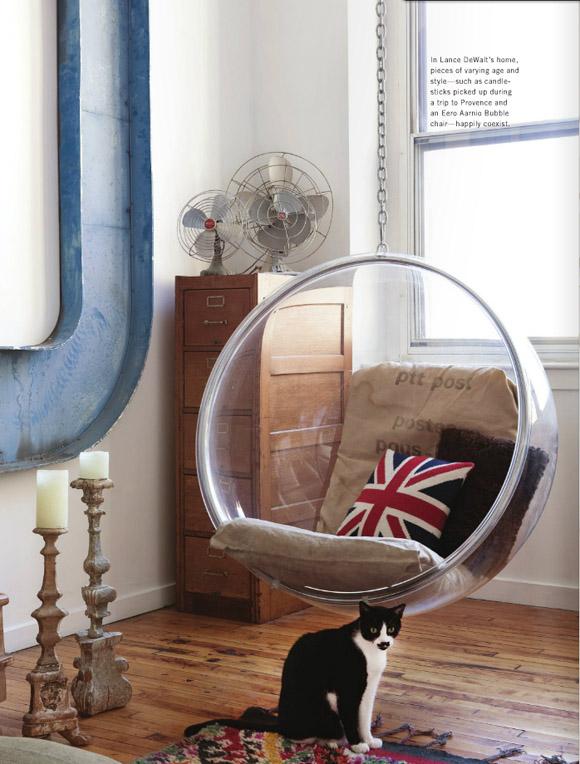 Vintage chic blog decoraci n vintage diy ideas para - Silla colgante ikea ...