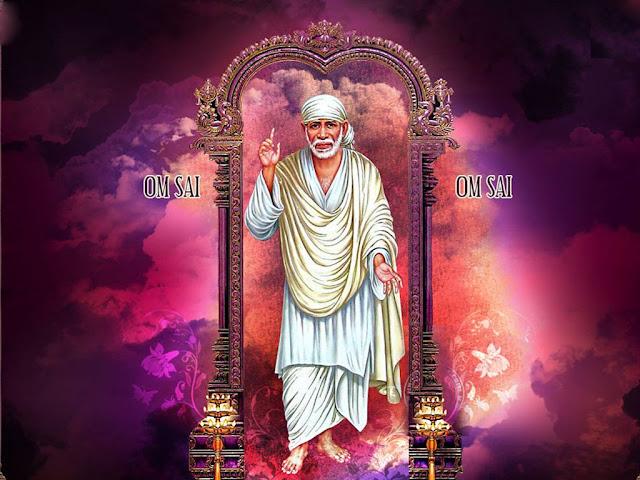Sai Baba Standing Wallpaper Free