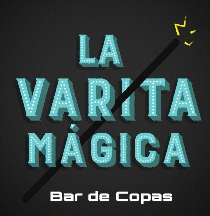 BAR DE COPAS VARITA MÁGICA