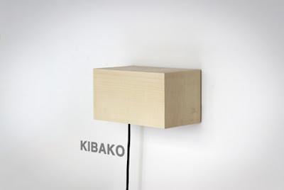 Kibako Ahşap Aplik