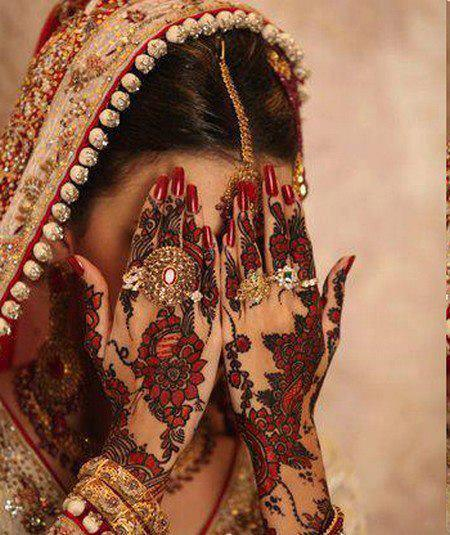 Mehndi Designs For Hands Red : Latest mehndi design