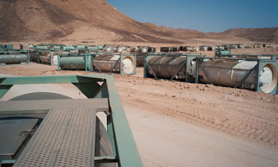 la proxima guerra armas quimicas contenedores desierto libia siria