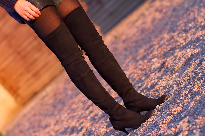 Maxi Botas Over the Knee Boots from Zara