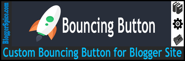 bouncing button