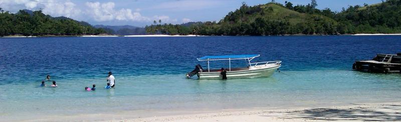 Transportasi ke pulau Pagang Sikuai Cubadak dan sewa boat di padang