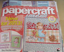 Runner-Up Papercraft Essentials Papercrafter of the Year 2012