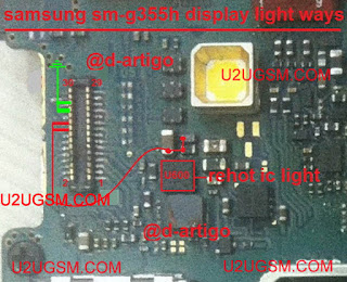Core II Lcd Light Ways Jumper diagram