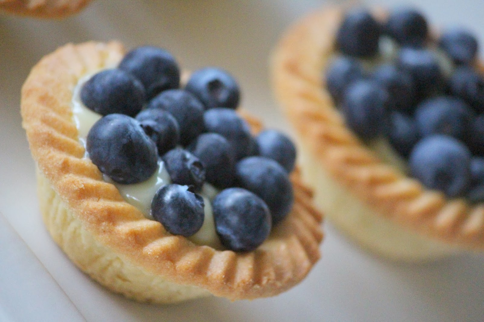 Max & Me: Super Simple Blueberry Tarts