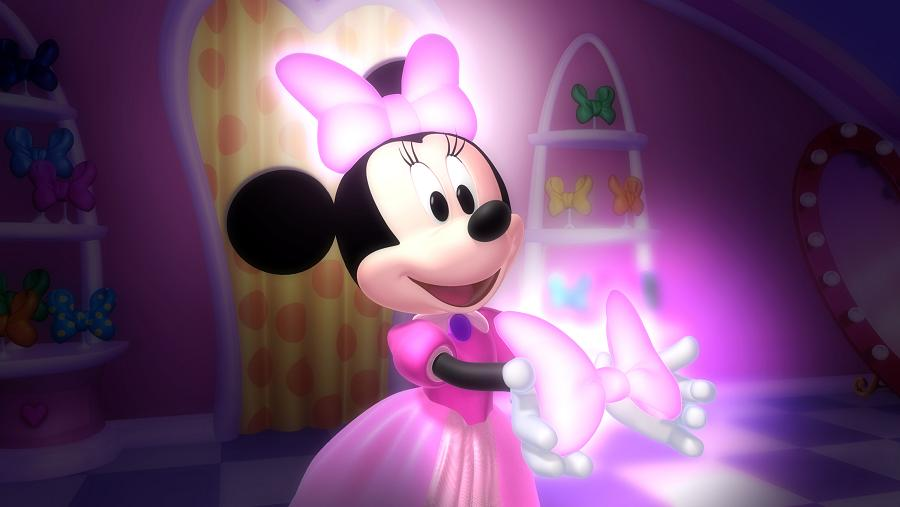 """... Space: Don't Miss Minnie Mouse's New Show - """"Minnie's Bow-Toons"""
