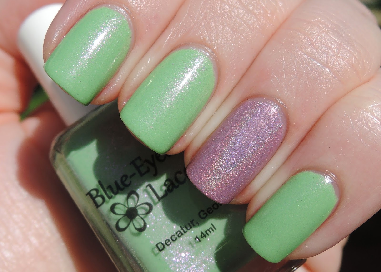 Blue-Eyed Girl Lacquer Queen Lime Rose Zinnia BEGL Kaffir Lily