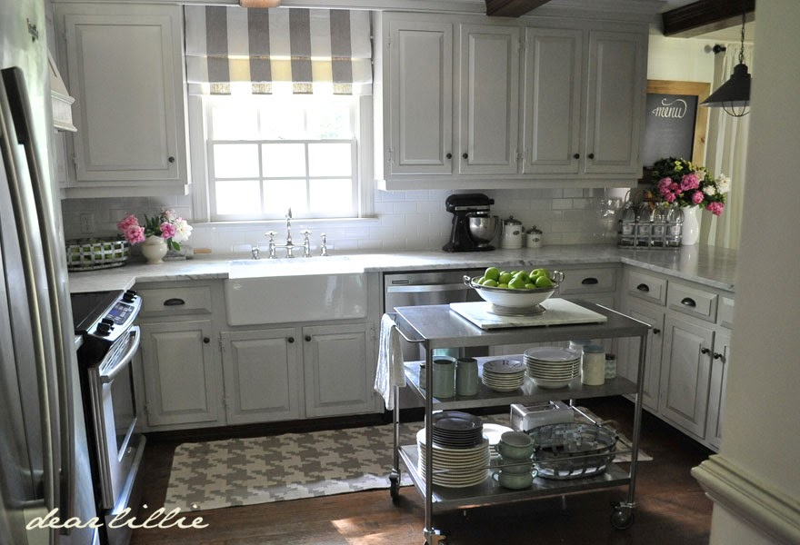 Dear Lillie Our Kitchen Makeover Before and Afters and a