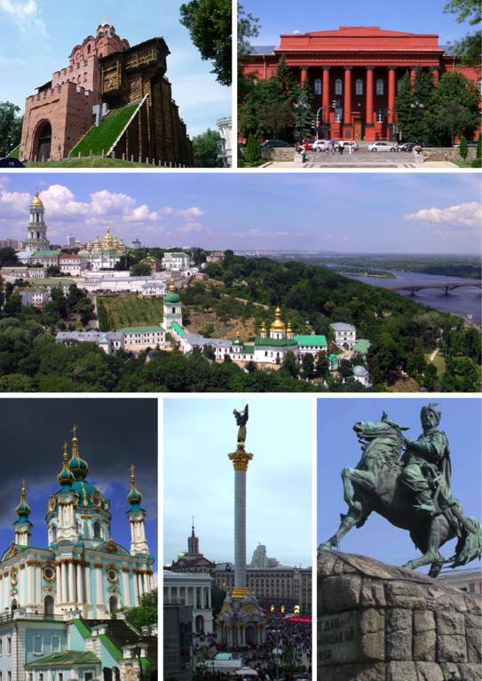 Kiev attractions