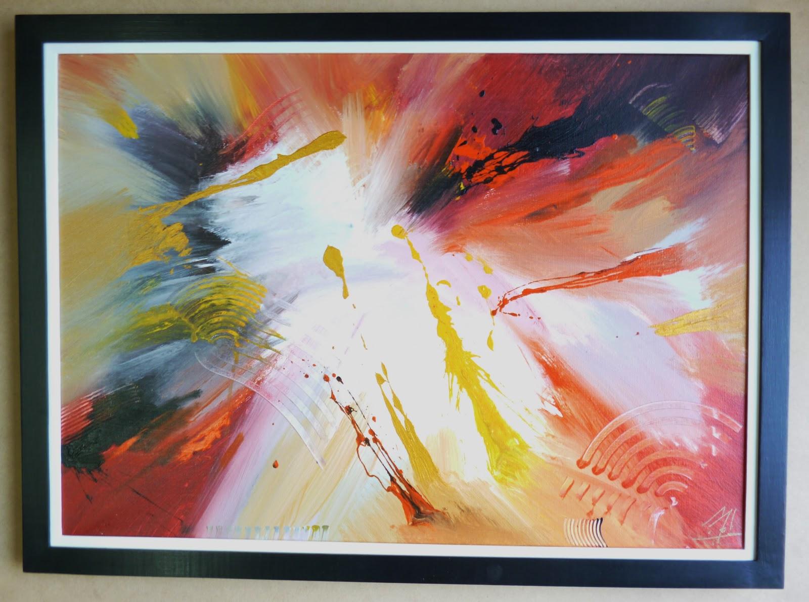 Marcos para cuadros abstractos imagui for Cuadros abstractos con marco
