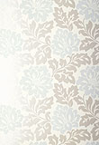 Schumacher Saraceno Damask Color Aquamarine 5003631