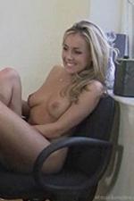 Becky strips naked in detention - St Mackenzies