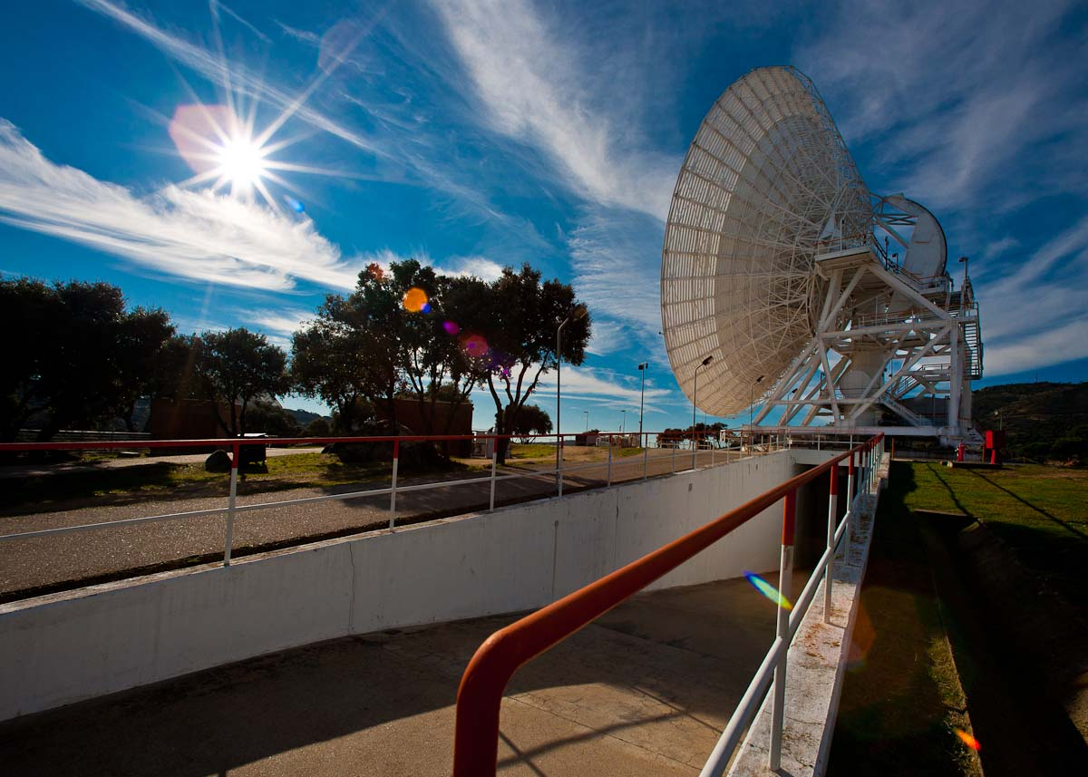 NASA Deep Space Communications Center - Robledo de Chavela (Madrid)