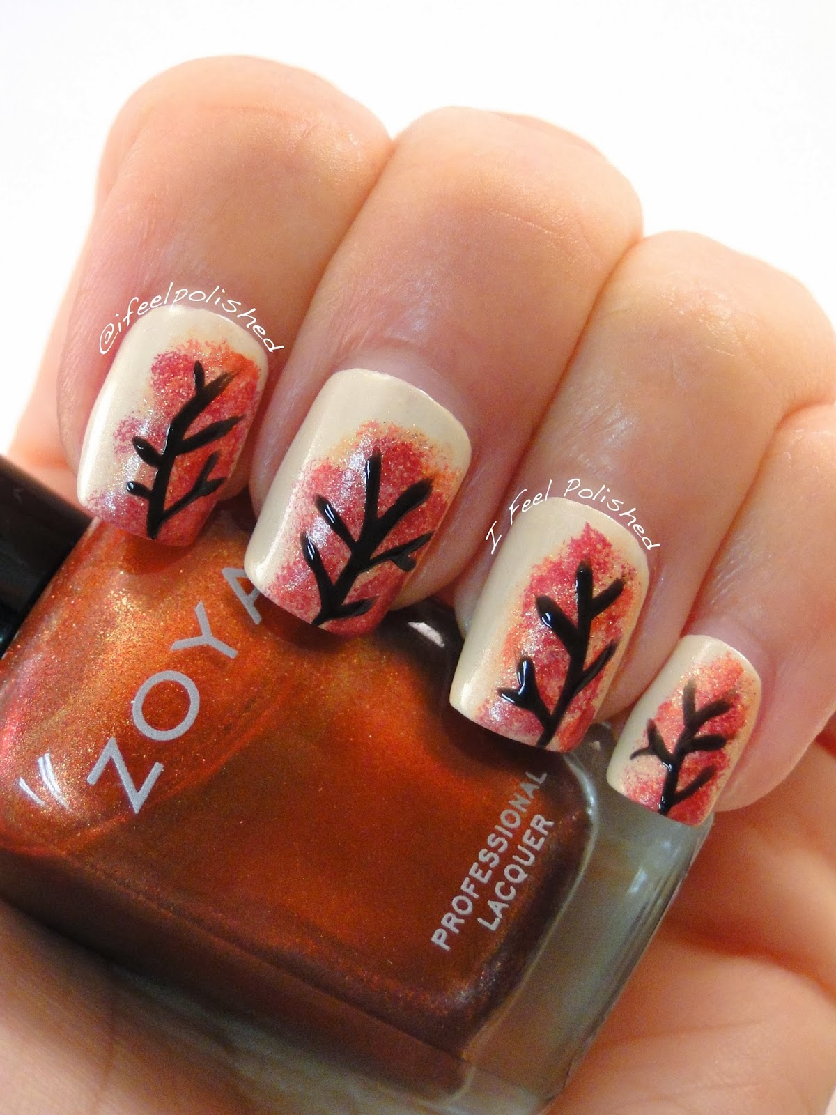 I Feel Polished Fall Nails